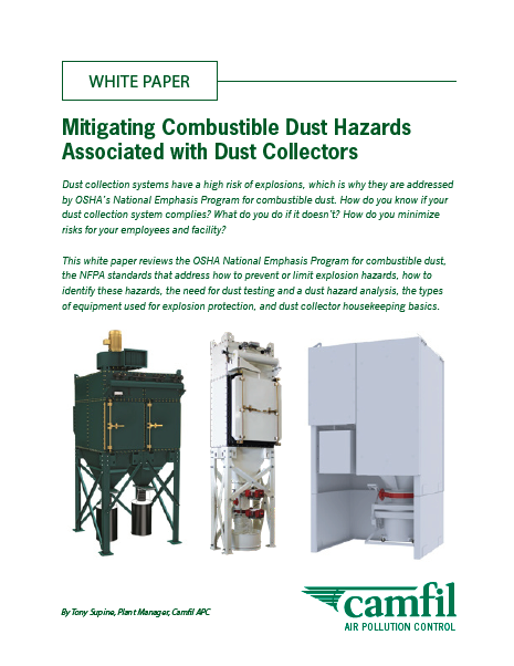 Mitigating Combustible Dust WP cover